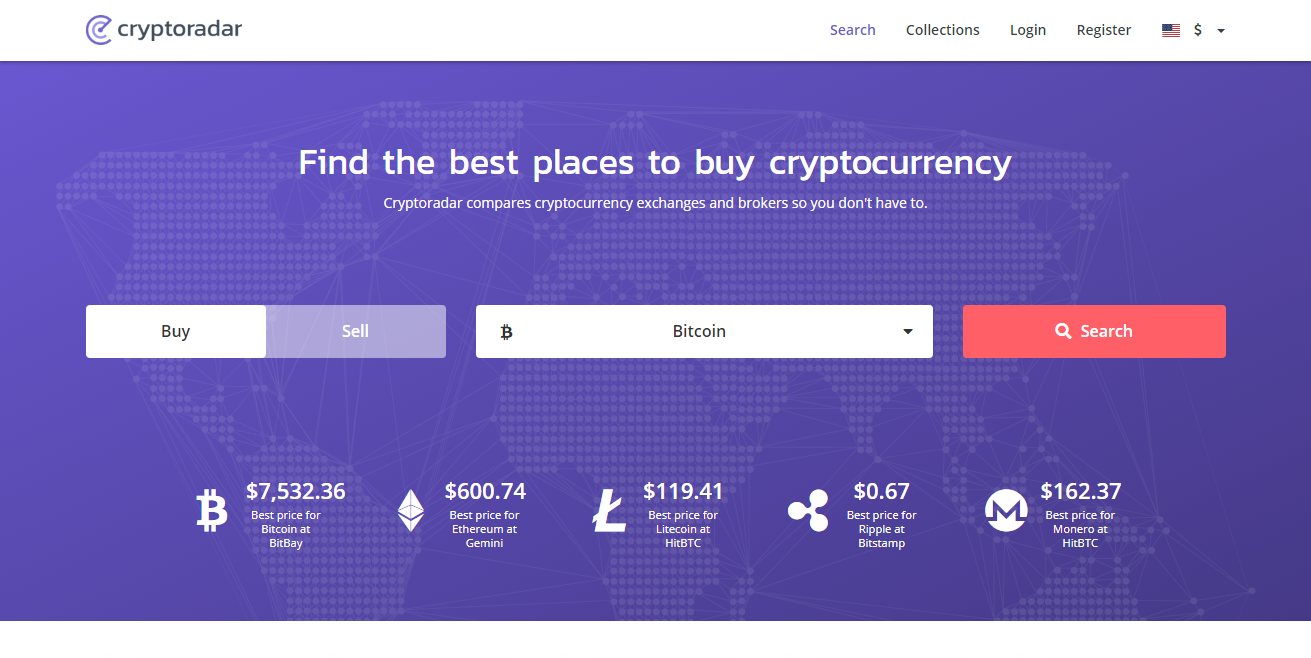 Best Cryptocurrency Exchange - Cryptoradar