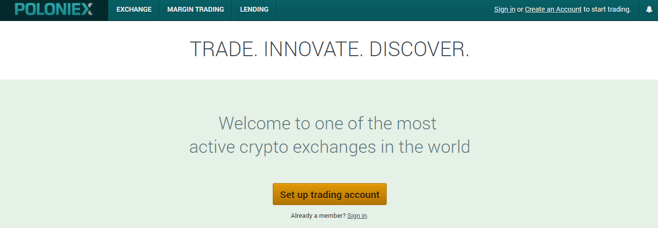 Poloniex Crypto Exchange Review