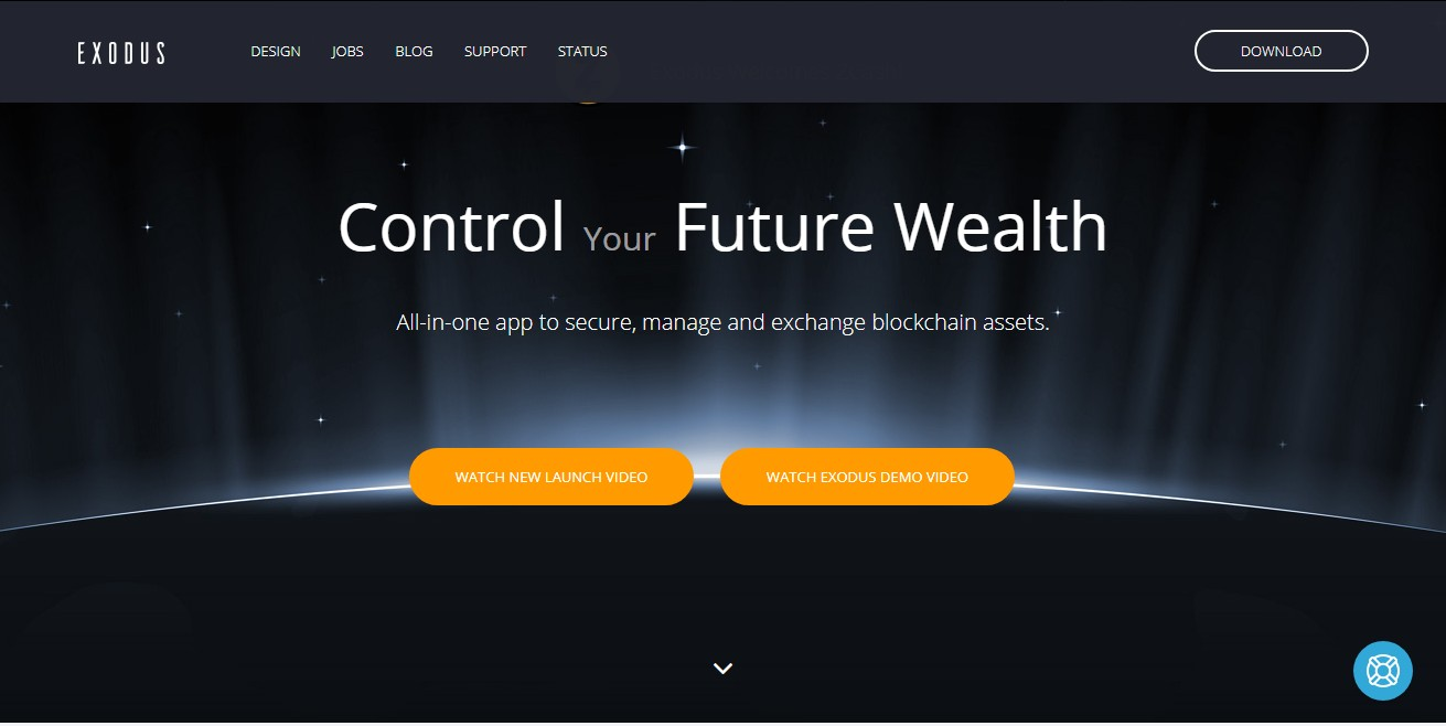 Exodus - Best Crypto Wallet