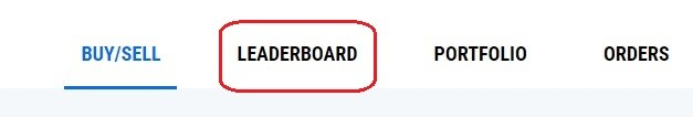 CryptoGround Game Learderboard Tab