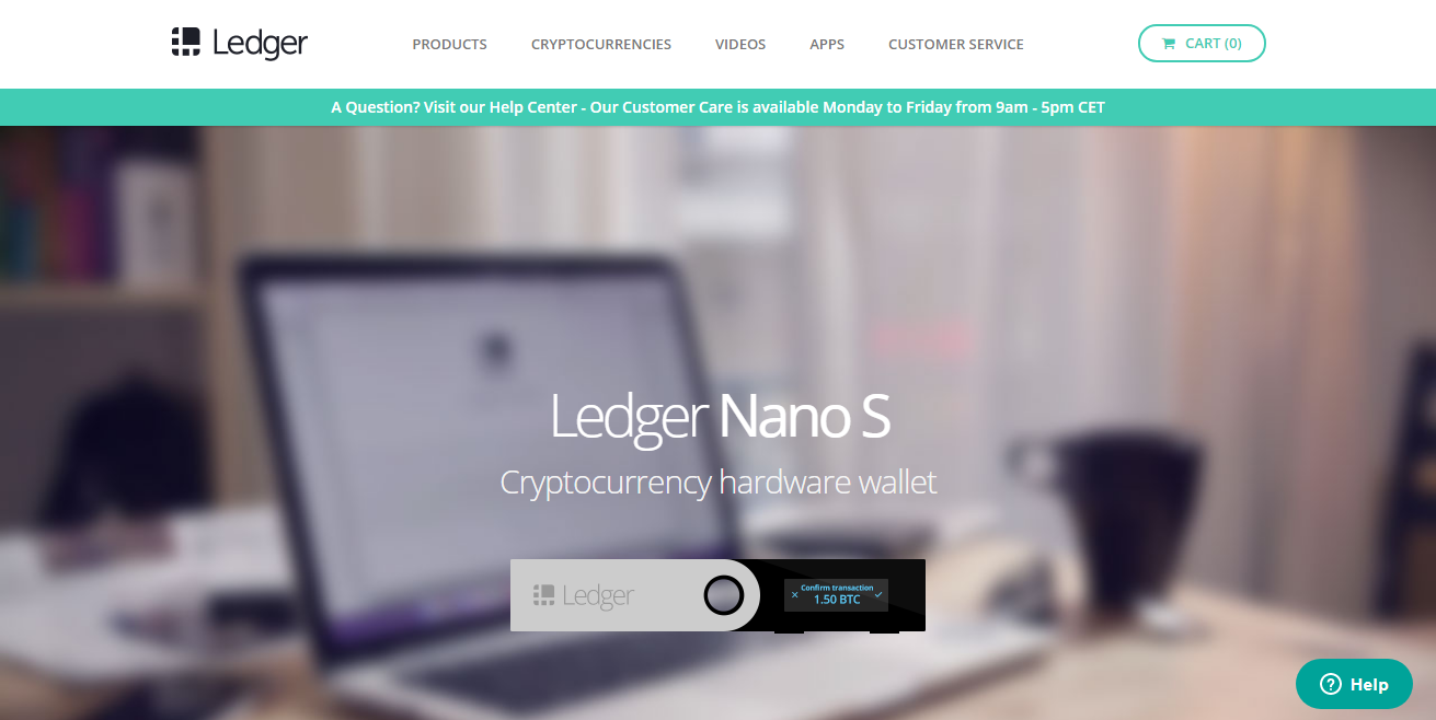 Ledger Nano S Ripple Wallet