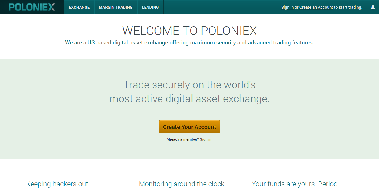 Poloniex Ripple Wallet