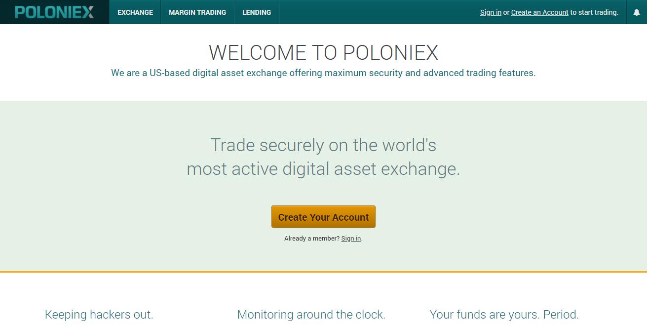Gatehub Secure Bitfinex Vs Poloniex Vs Bittrex 2019
