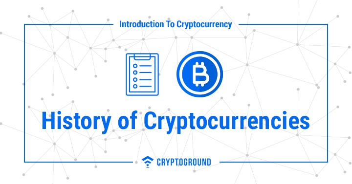History of Cryptocurrencies
