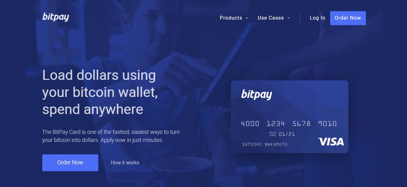 Bitpay Bitcoin Debit Card