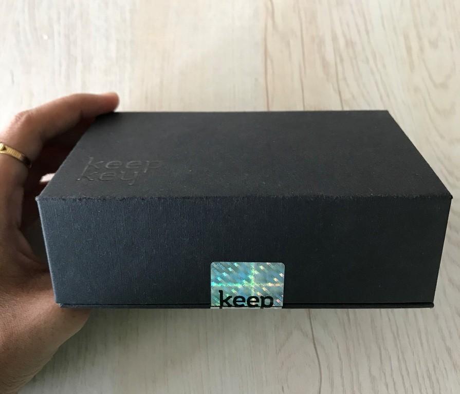 Keepkey Wallet box seal