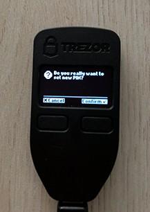 Set Trezor Wallet PIN