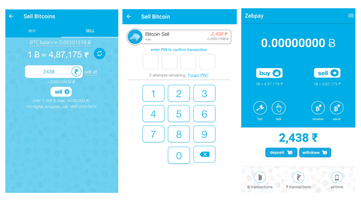 How to buy and sell bitcoin on zebpay cryptoground if you hold 1 bitcoin in your zebpay account you can choose to withdraw either 10000 rupees from it or 0021 btc in our example below we are selling the ccuart Choice Image