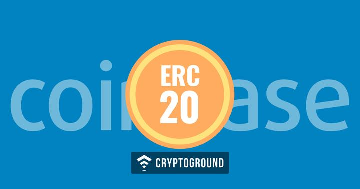 ERC20 Tokens Now Supported On Coinbase GDAX Platforms
